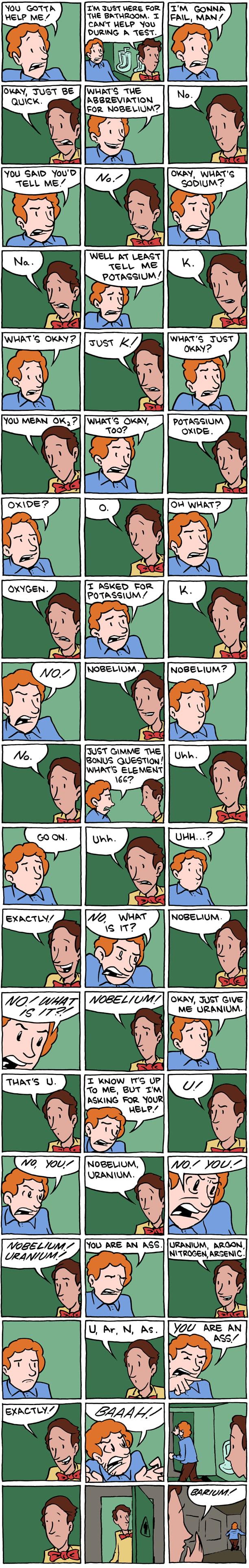So I heard you like chemistry puns