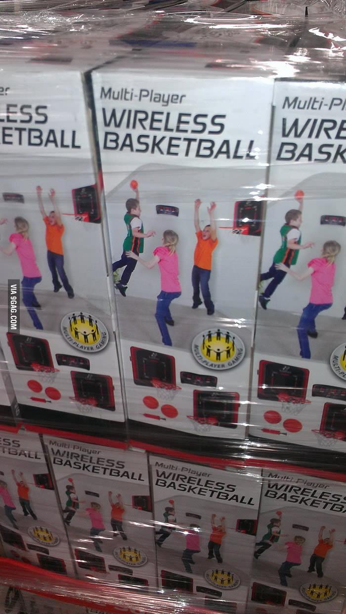 Multi-Player Wireless Basketball