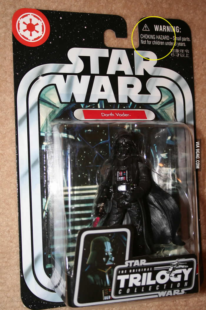 Darth Vader: Choking Hazard