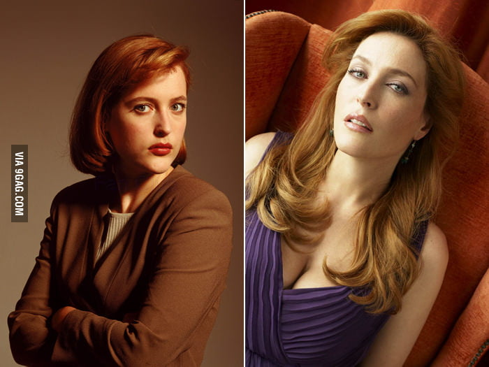Agent Dana Scully (Gillian Anderson) ages nicely.