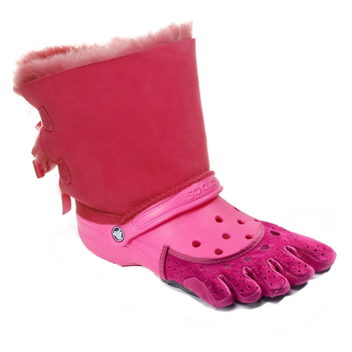 The Ugg-Croc-Toe Shoe