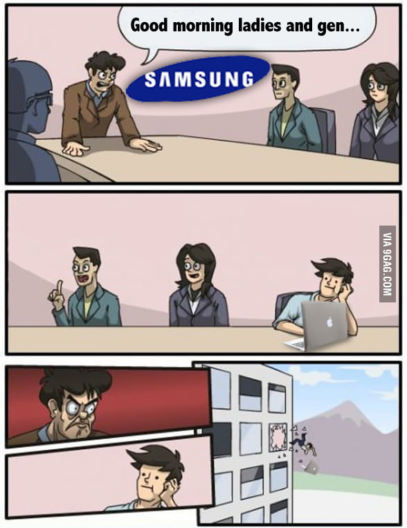 Meanwhile at Samsung headquarter