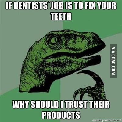 If desntists´s job...