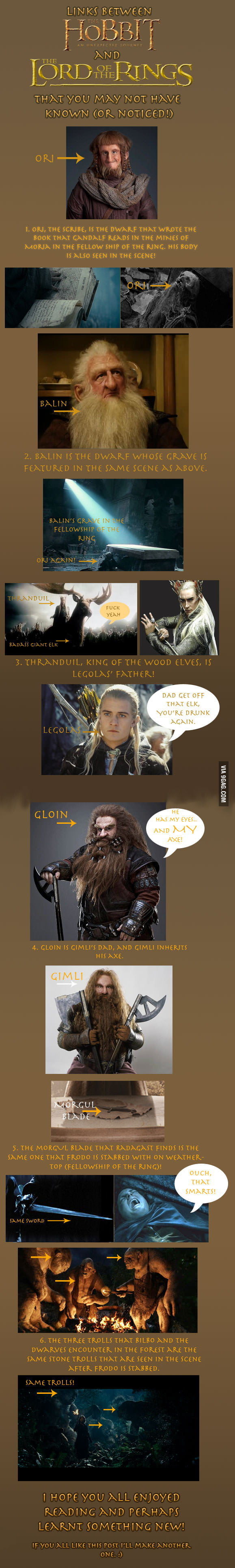 For all the LOTR and Hobbit fans! WARNING, SPOILERS!