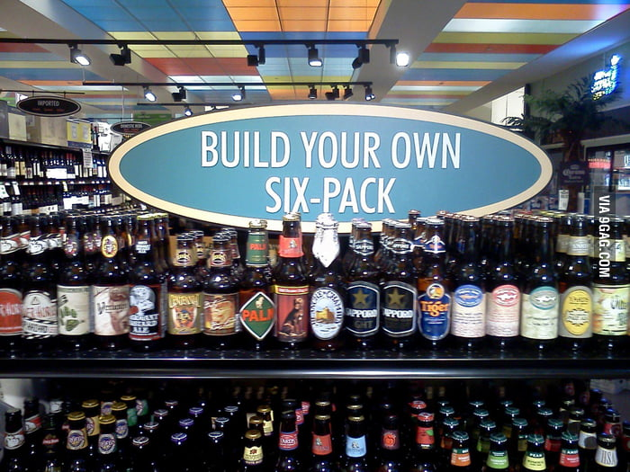 I think every supermarket should sell beer like this.