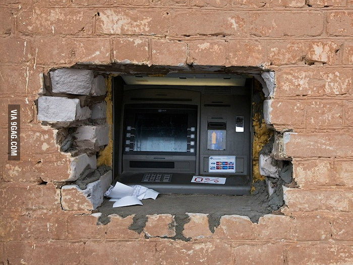 I think HULK installed this ATM.