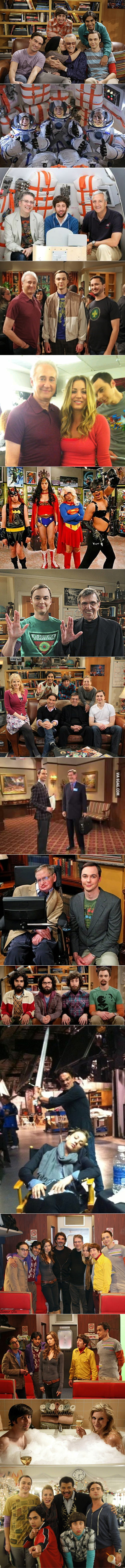It's good to be in The Big Bang Theory