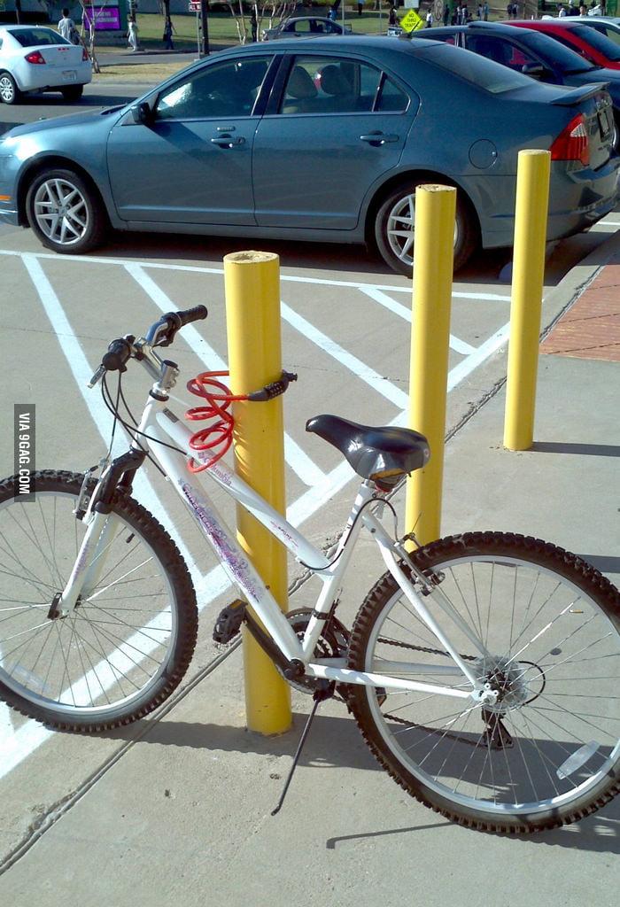 Locking a bike? You're doing it wrong.