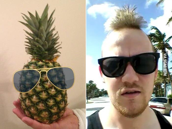 Pineapple Look-alike.