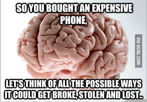 Almost Every time I buy any anything...