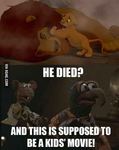 What do you think is the saddest children's movie moment?