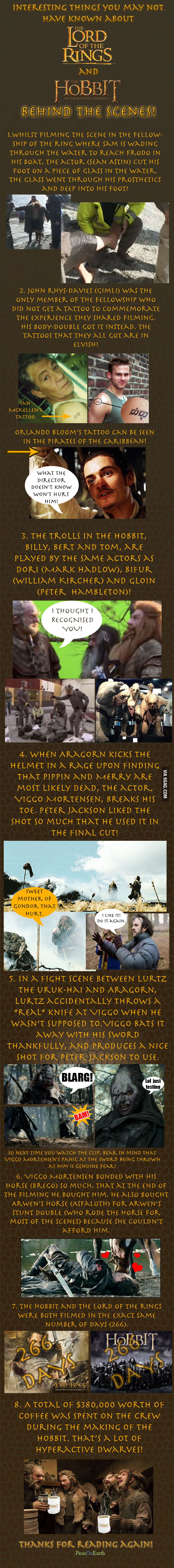 Part two, for all you Tolkien fans!