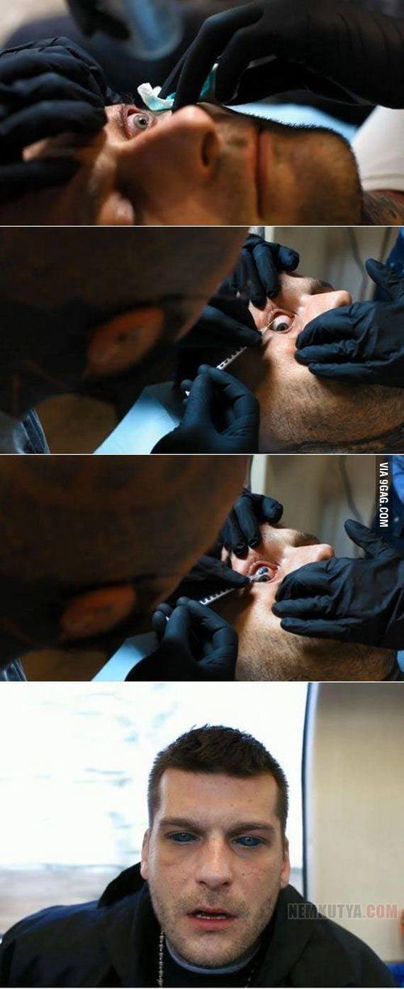 Eye Tattoo!