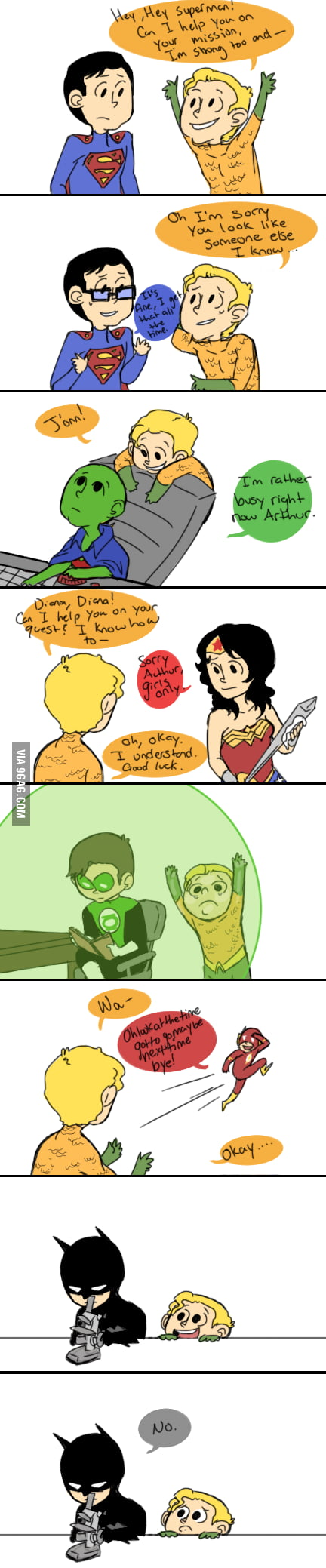 That one friend nobody likes - Poor Aquaman