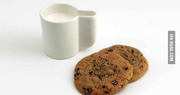 Awesome cookie mug!