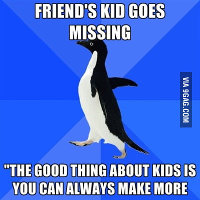 The good thing about kids