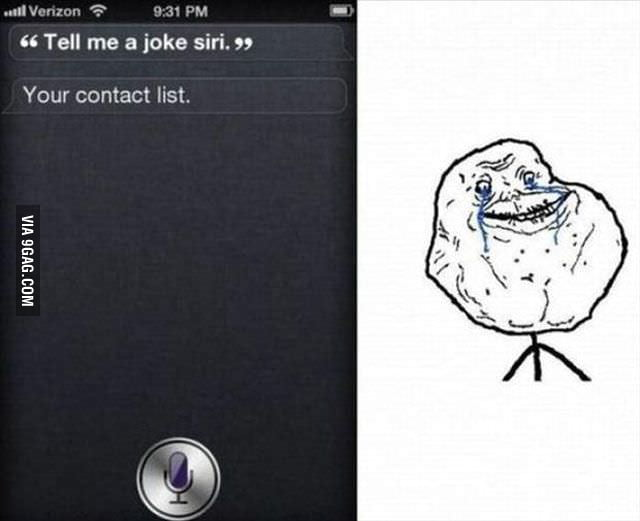 That Was Cruel, Siri!