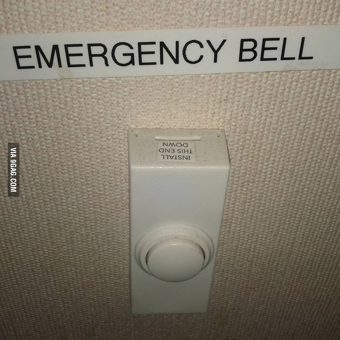 It's fine as long as it rings during emergency, right?