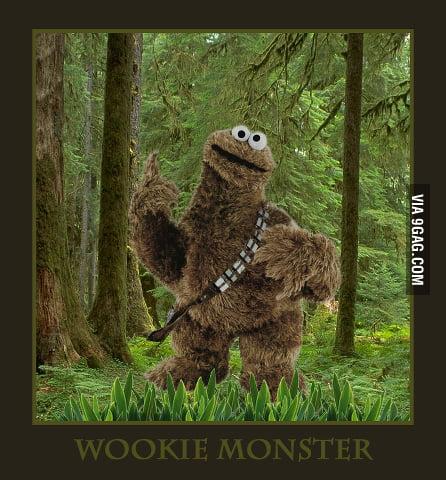Wookie Monster...
