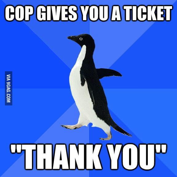 Sometimes I'm too polite.