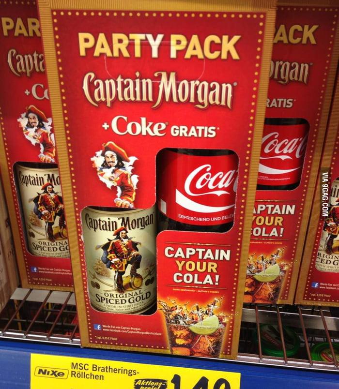 German supermarkets understand their customers well.