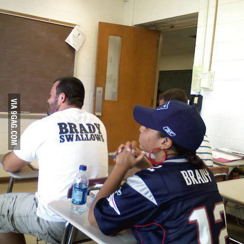 Brady Swallows...