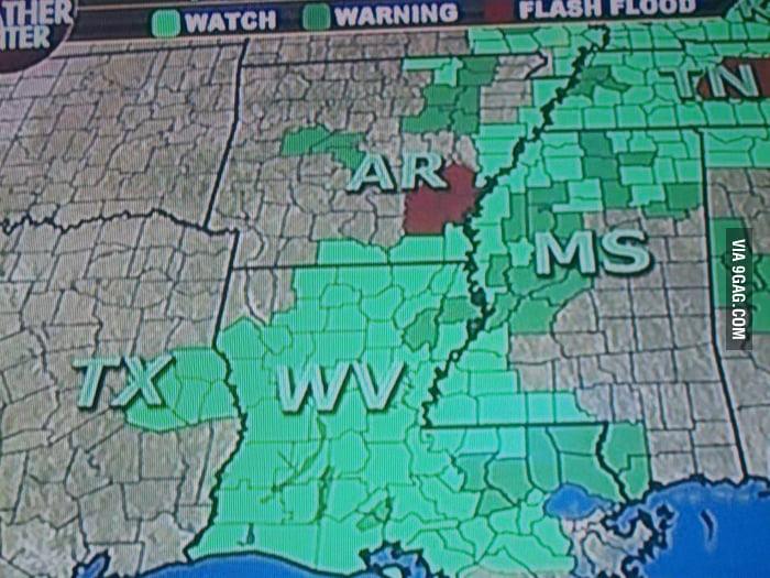 Fox News has relocated West Virginia.