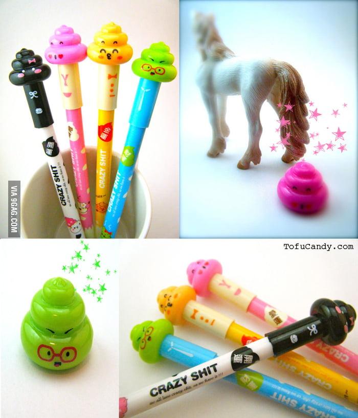 Poop Pens!