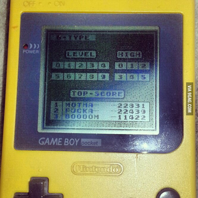 Remeber, when gaming was about highscores?