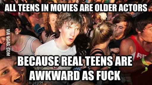 Teens in movies.