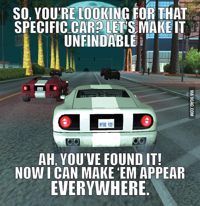 Damn you GTA