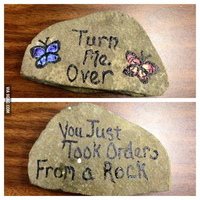 Beaten by a rock...again!!!!
