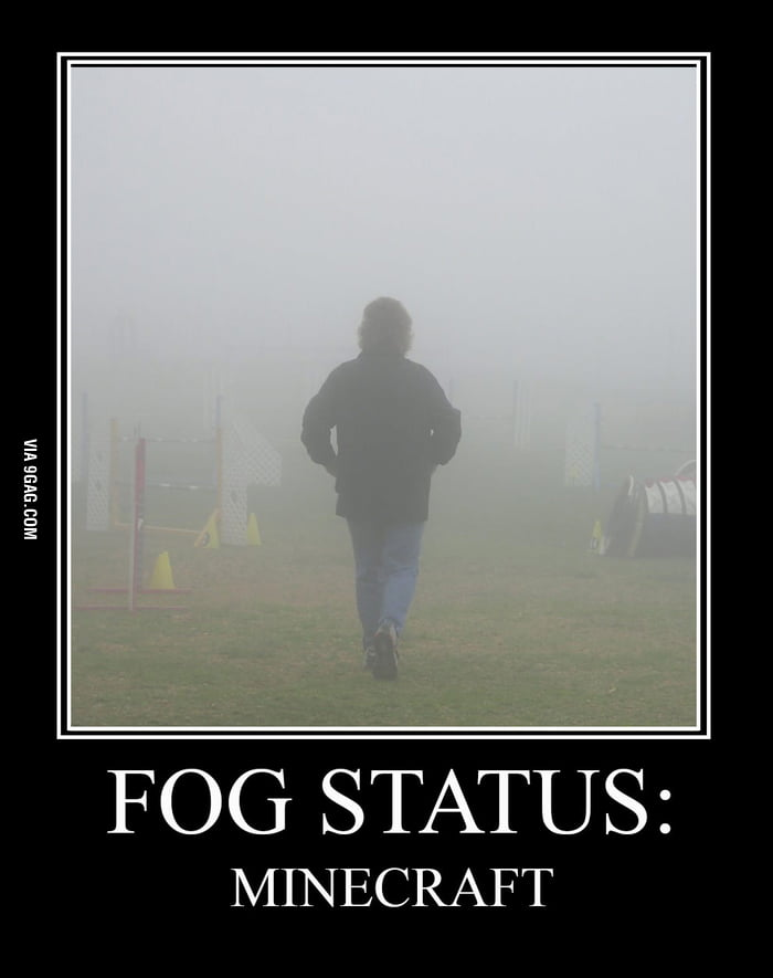 Fog Status: Minecraft Tiny