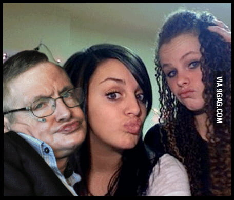 Stephen Hawking on FB.