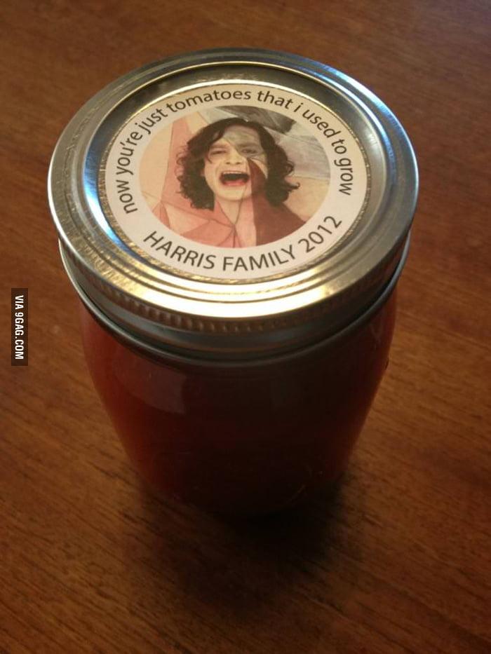 Do you like this homemade, home grown tomato sauce?