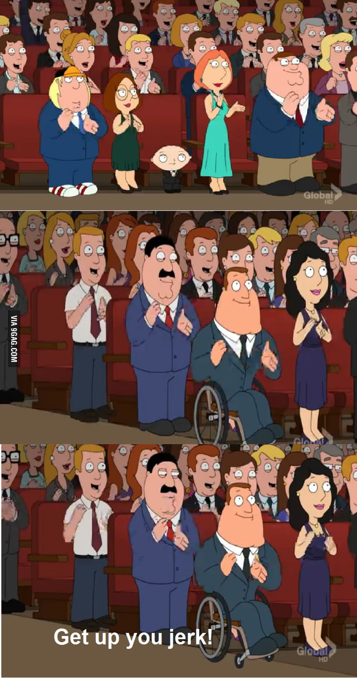 Awesome Family Guy Moment