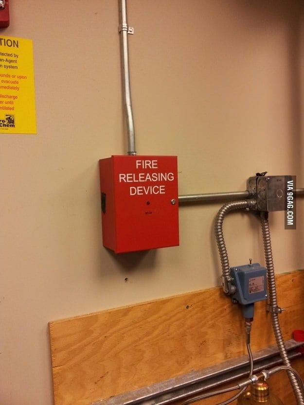 Fire Releasing Device