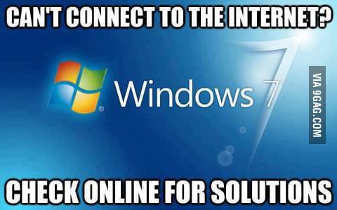 Oh Windows 7...