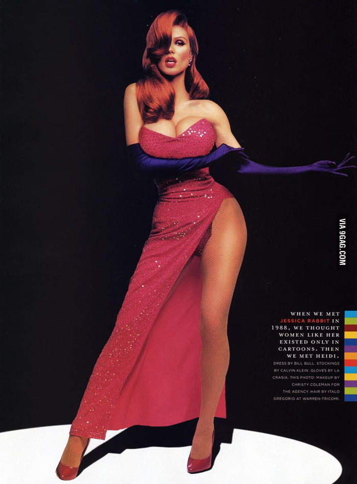 This is the real Jessica Rabbit.