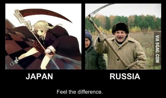 Japan vs. Russia
