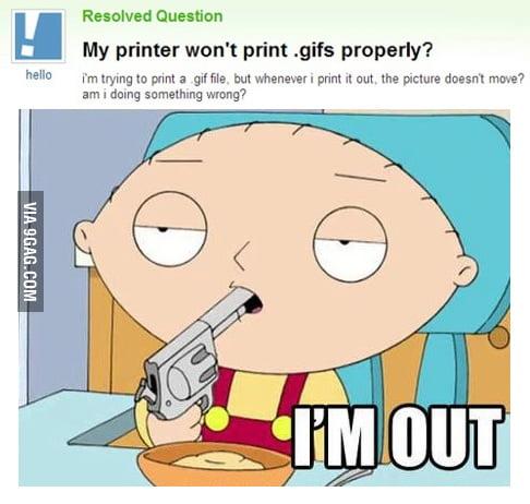 Printing GIF