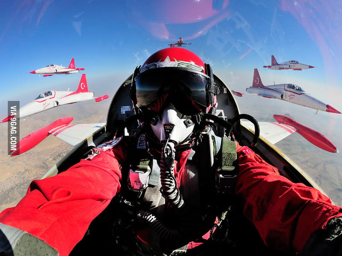 Probably the coolest self picture ever been taken.