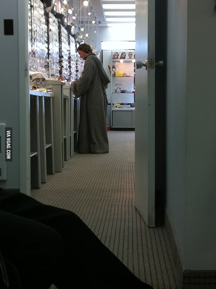 Saw a Jedi browsing for glasses today.