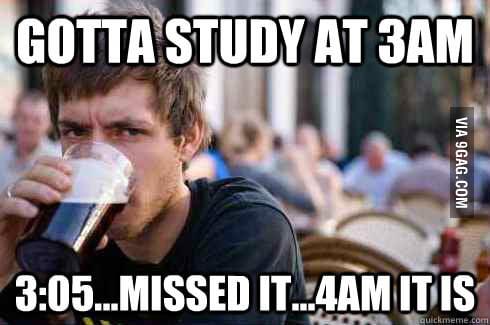 Gotta study at 3AM?
