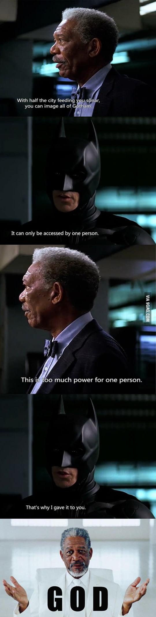 Watching Dark Knight And...