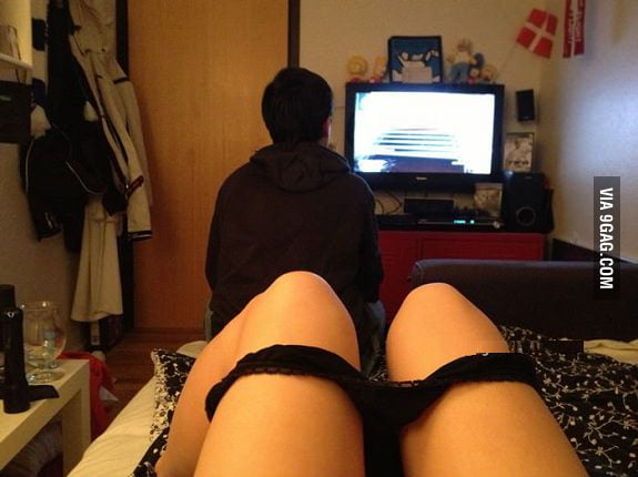 So naked me or black ops? Damn boyfriends...