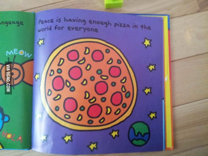 """""""Peace"""" in children book."""