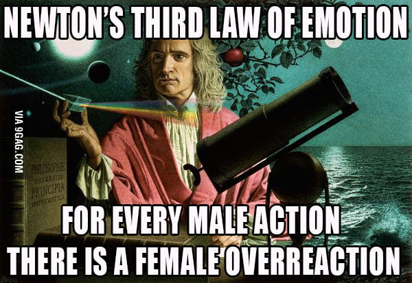Newton's Third Law of Emotion