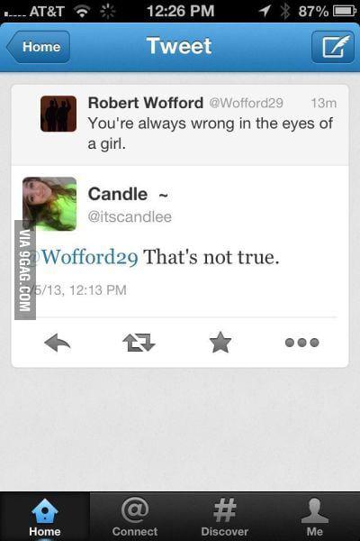 Always wrong :D