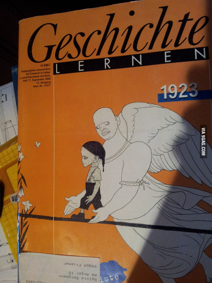 Me Gusta in a German history book